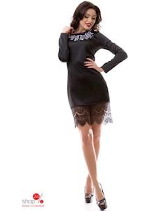 Платье цвет черный Dioriss