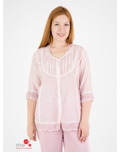 Блуза цвет розовый Domene