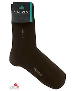 Носки цвет коричневый Calzini