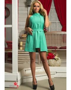 Платье цвет бирюзовый Flf