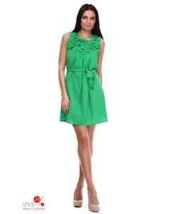 Платье цвет зеленый Marafett