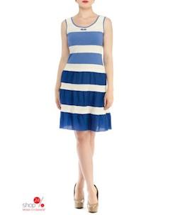 Сарафан цвет белый синий Fantazia mod