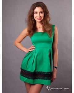 Платье цвет зеленый Fedel