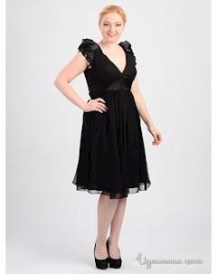 Платье цвет черный Bianca brandi