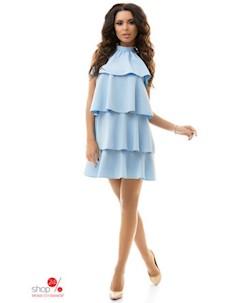 Платье цвет голубой Tivardo