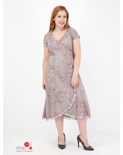 Платье цвет серый сиреневый Szefler