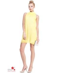 Платье цвет желтый Kireya