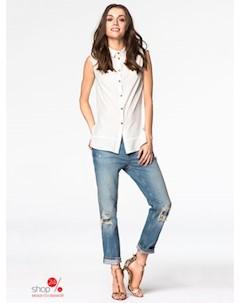 Блуза цвет молочный Peperuna