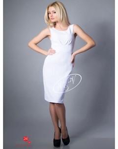 Платье цвет белый V & v