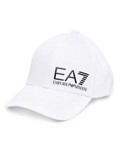 Бейсболка с тисненым логотипом Ea7 emporio armani