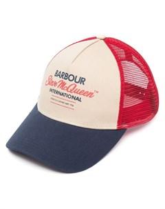 Шестипанельная кепка с логотипом Barbour