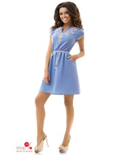 Платье цвет сиреневый Dioriss