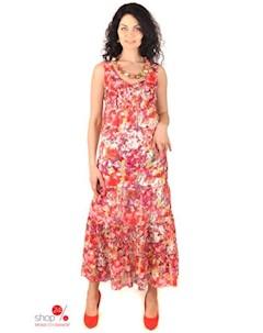 Платье цвет коралловый Ladystyle
