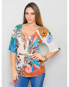 Блуза цвет мультиколор Hhg