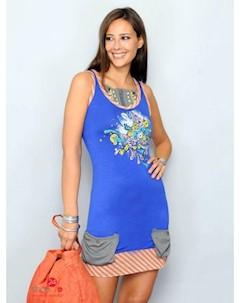 Платье цвет синий Hhg