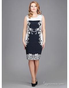 Платье цвет темно синий Runella