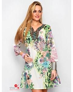 Платье цвет мультиколор Hhg