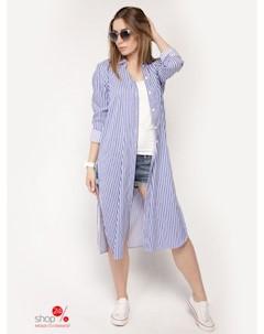 Рубашка цвет сиреневый Lavana fashion