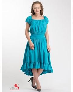 Платье цвет бирюзовый Selezza