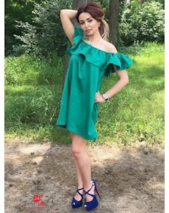 Платье цвет зеленый Eletan boutique