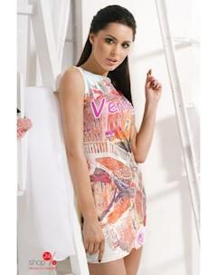 Платье цвет мультиколор Charm