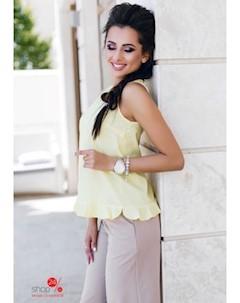 Блуза цвет желтый Charm