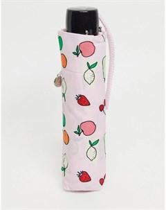 Зонт с фруктовым принтом Fulton