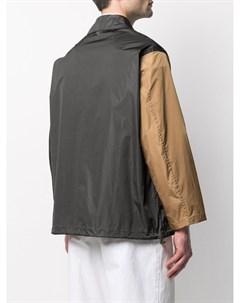 Куртка в стиле колор блок Mackintosh