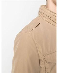 Куртка с высоким воротником и карманами Herno