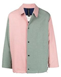 Куртка рубашка с контрастными вставками Mackintosh