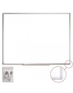 Доска магнитно маркерная алюминиевая рамка 90х120 см Staff