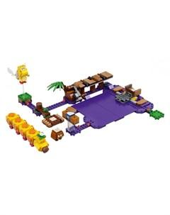 Конструктор Super Mario Дополнительный набор Ядовитое болото егозы Lego