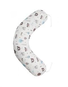 Подушка для беременных Индейцы 170х25 см Amarobaby