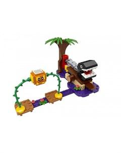Конструктор Super Mario 71381 Лего Супер Марио Кусалкин на цепи встреча в джунглях Lego