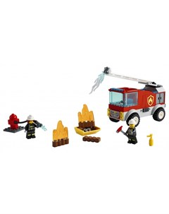 Конструктор City 60280 Лего Город Пожарная машина с лестницей Lego