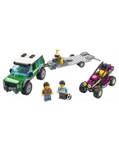 Конструктор City 60288 Лего Город Транспортировка карта Lego