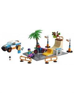 Конструктор City 60290 Лего Город Скейт парк Lego