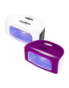 Лампа для маникюра Super Arch 9G LED Lamp Цвет 2 Сиреневая Solomeya