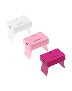 Лампа для маникюра Micro USB LED Lamp Цвет 2 Pink Розовая Solomeya