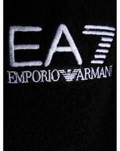 Халат с вышитым логотипом Ea7 emporio armani