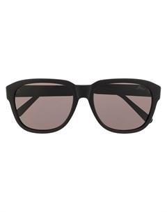 Солнцезащитные очки в массивной оправе Brioni
