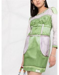 Платье с длинными рукавами Moschino