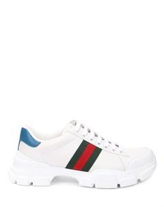 Кроссовки кожаные Gucci