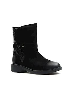 Ботинки женские A22 32M 36 Черный Angelo vani