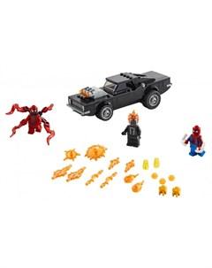 Конструктор Super Heroes Человек Паук и Призрачный Гонщик против Карнажа Lego