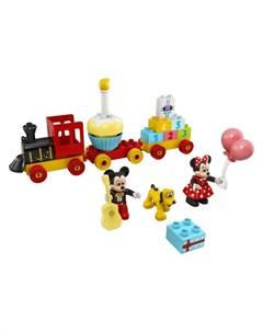 Конструктор Duplo Праздничный поезд Микки и Минни Lego