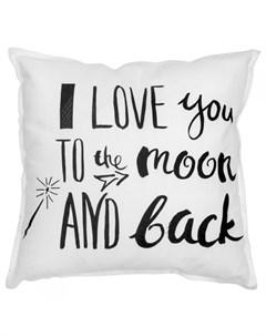 Подушка I Love You 40х40 Vamvigvam