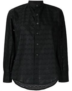 Рубашка с английской вышивкой Comme des garçons tricot
