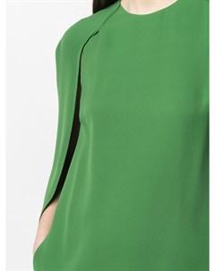 Платье мини с вырезами для рук Valentino