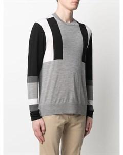 Пуловер со вставками Neil barrett